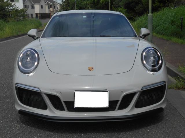 911カレラGTS 左ハンドル PCCBセラミックブレーキ スポーツクロノPKG アダプティブスポーツシート・スポーツシートプラス(18ウェイ) インテリアライトPKG PASM 20インチアルミ Fバンパーフィルム(4枚目)