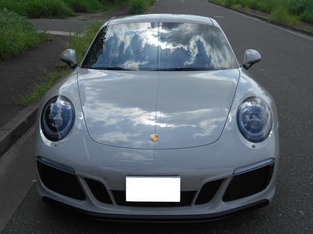 911カレラGTS 左ハンドル PCCBセラミックブレーキ スポーツクロノPKG アダプティブスポーツシート・スポーツシートプラス(18ウェイ) インテリアライトPKG PASM 20インチアルミ Fバンパーフィルム(11枚目)