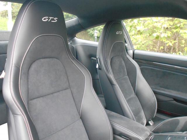 911カレラGTS 左ハンドル PCCBセラミックブレーキ スポーツクロノPKG アダプティブスポーツシート・スポーツシートプラス(18ウェイ) インテリアライトPKG PASM 20インチアルミ Fバンパーフィルム(42枚目)