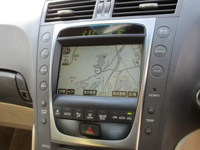 GS350 バージョンI HDDナビ リアカメラ フルセグ スマートキー HIDヘッドライト サンルーフ 本革シート シートヒーター シートクーラー クリアランスソナー クルーズコントロール ETC(20枚目)