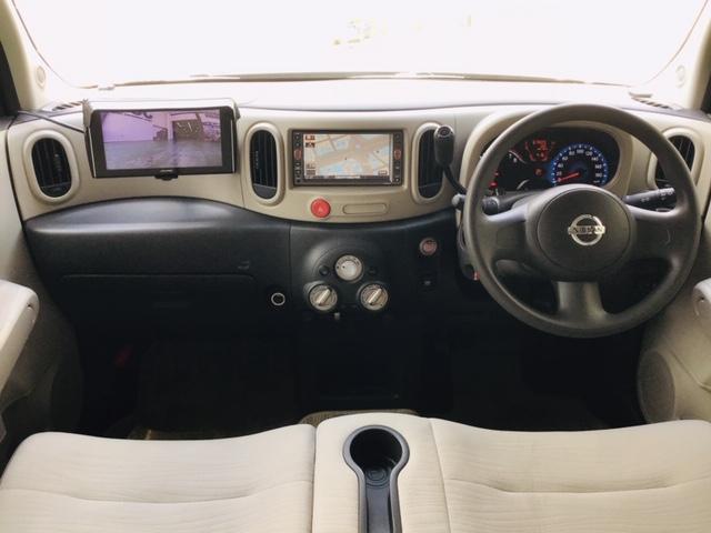 足元がスッキリしており、車内が広く感じられます☆内装はベージュを基調としたインテリアです☆