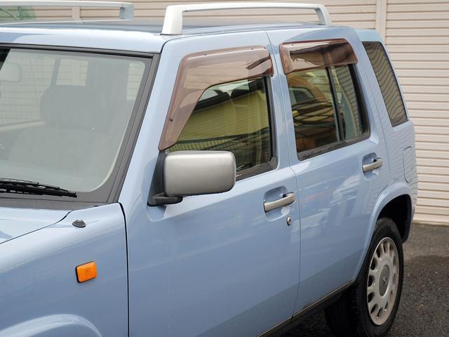 日産 ラシーン タイプA オリジナルレザーシート 背面タイヤカバー