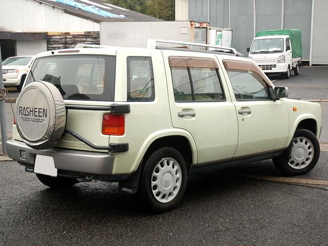 タイプII オリジナルレザーシート 背面タイヤカバー(7枚目)