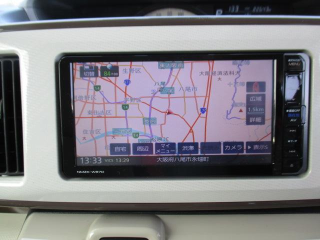 Gメイクアップ SAII LEDヘッドランプ/ナビ/Bカメラ/ドラレコ/両側電動パワースライド/衝突軽減ブレーキ/スマートキー/プッシュボタンスタート/オートライト(2枚目)
