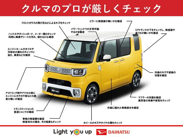 Gメイクアップ SAII LEDヘッドランプ/ナビ/Bカメラ/ドラレコ/両側電動パワースライド/衝突軽減ブレーキ/スマートキー/プッシュボタンスタート/オートライト(63枚目)
