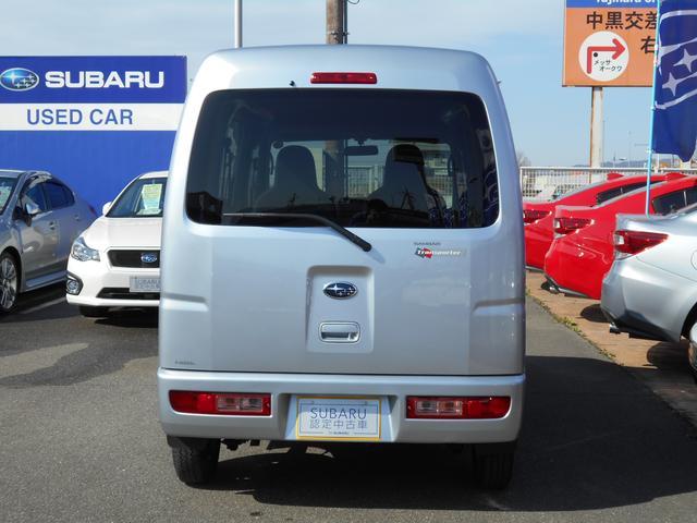 スバル サンバーバン トランスポーター 当社デモカー