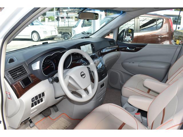 米国日産 クエスト S Giovanna20AW 車高調 8インチナビ