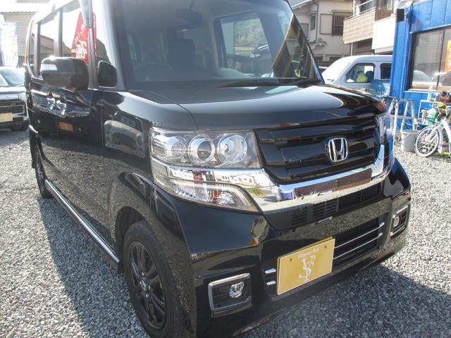 ホンダ N-BOXカスタム G SSブラックスタイルパッケージ 車検32年9月