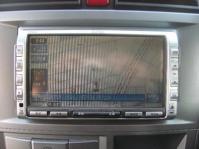 HDDナビ ワンセグTV CD