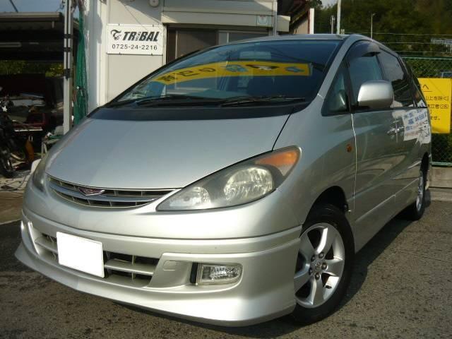 トヨタ エスティマT アエラス キーレス 4WD