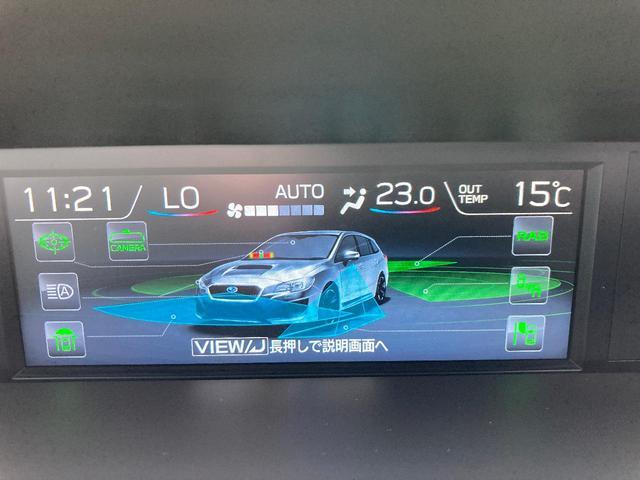 1.6GT-Sアイサイト STIパフォーマンスPKG セイフティプラス 純正8型ナビ バックカメラ ETC 後期D型 ワンオーナー 前席シートヒーター 前席パワーシート 純正18インチAW LED パドルシフト スマートキー(8枚目)