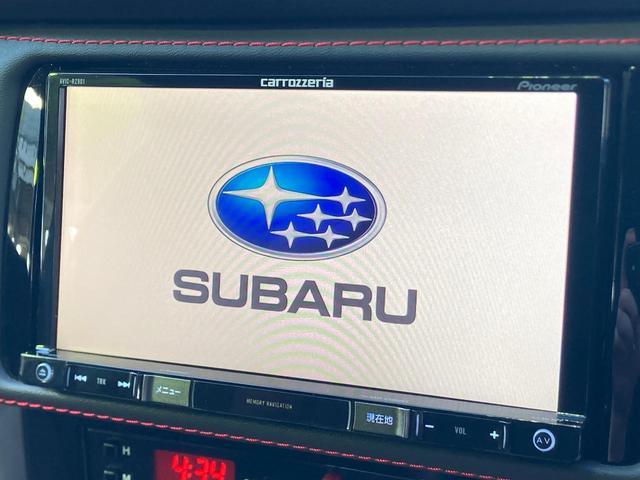 STI スポーツ 純正ナビ ETC バックカメラ 6速MT 禁煙車 クルーズコントロール スマートキー シートヒーター LEDヘッドライト(4枚目)