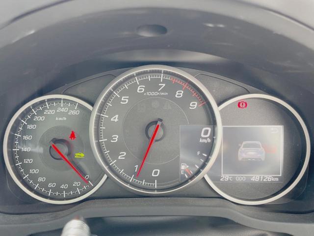 GT STIスポーツPKG フロントリップ 純正SDナビ バックカメラ ETC スマートキー ドライブレコーダー シートヒーター 6速MT リアウィング 禁煙車(40枚目)