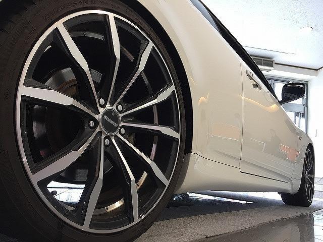 370GT タイプP トランクオーディオ 内装白黒革張替え(10枚目)