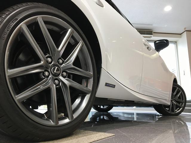 IS300h 禁煙車 Fスポーツ18インチAW 黒ハーフレザーシート メーカーSDナビ プリクラッシュセーフティ レーダークルーズコントロール LEDヘッドライト ビルトインETC パドルシフト シートヒーター(42枚目)