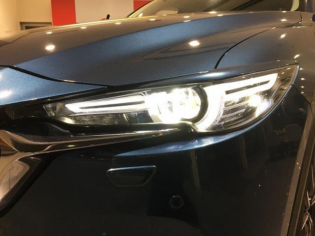 XD プロアクティブ 4WD 禁煙車 マツダスピードエアロ レーダークルーズ コーナーセンサー オートビークルホールド レーンキープアラート ビルトインETC LEDライト 純正SDナビ バック&サイドカメラ 純正19AW(32枚目)