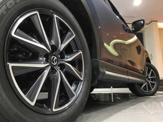 XD プロアクティブ 4WD 禁煙車 マツダスピードエアロ レーダークルーズ コーナーセンサー オートビークルホールド レーンキープアラート ビルトインETC LEDライト 純正SDナビ バック&サイドカメラ 純正19AW(45枚目)
