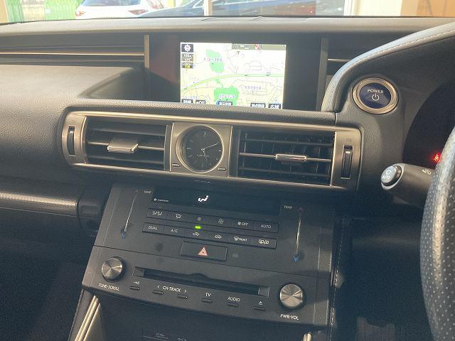 IS300h Fスポーツモードプラス 禁煙車 サンルーフ プリクラッシュS レーダークルーズ クリアランスソナー BSM LTEX合皮シート シートヒーター&エアコン パドルシフト パドルシフト 純正SDナビ バックカメラ 純正18AW(73枚目)