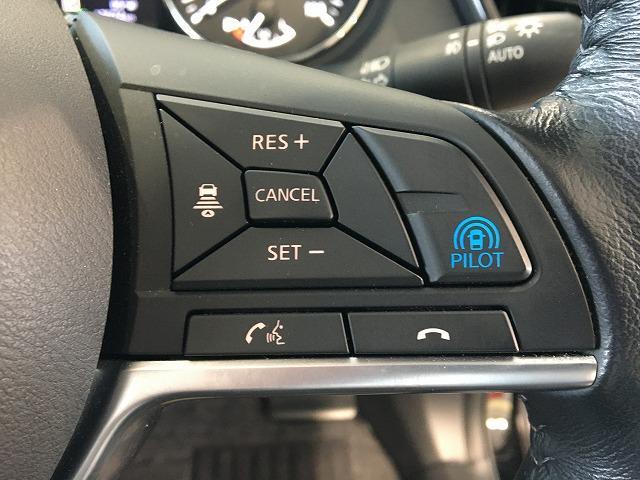 プロパイロット付き☆高速道路での運転を支援し、ドライバーに代わってアクセル、ブレーキ、ステアリングをクルマ側でコントロールします!運転によるストレスや疲労を軽減されますね♪