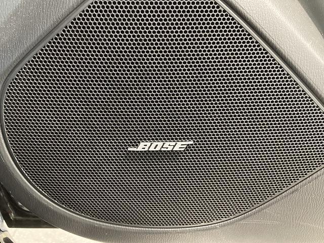 BOSEサウンドで良質な音をお楽しみいただけます。