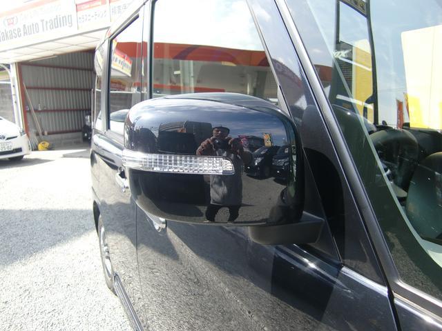 スズキ スペーシアカスタム XS 両側電動スライド 地デジフルセグ 黒レザー 社外AW