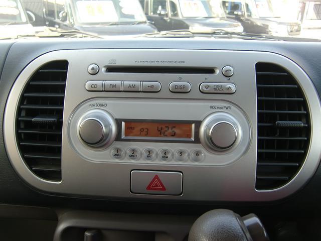 スズキ MRワゴン ウィットGS キーフリー 黒レザーシートカバー 純正CD