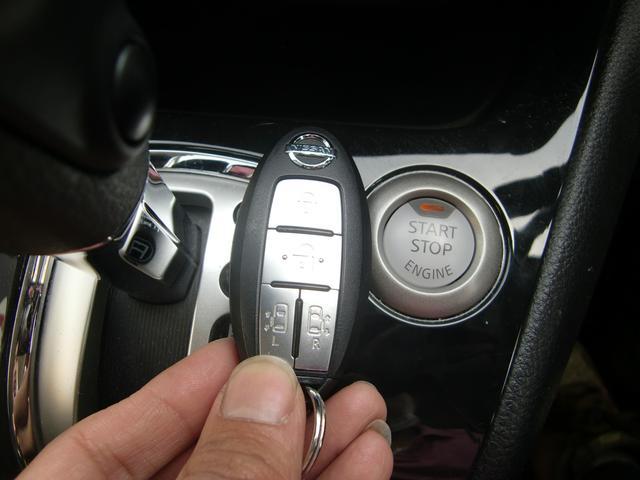 便利なキーフリー&プッシュスタート♪スマートキーは、ポケットや鞄の中でOK♪そのままドアの開錠やエンジン始動が可能なんです☆