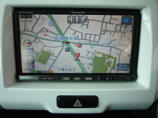 Xターボ 社外HDDナビ フルセグTV ETC デュアルカメラブレーキサポート アイドリングストップ シートヒーター(10枚目)