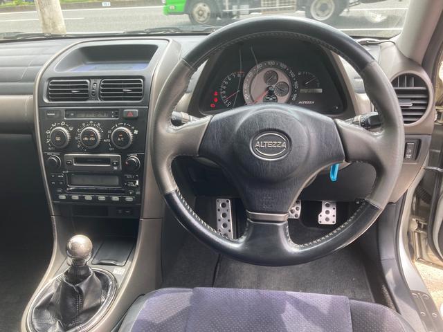 RS200 Lエディション Tベルウォポン各シール類交換 社外タコ足 ボンネット&天井カーボンステッカー WORK9.5JJ18インチアルミホイール 新品タイヤ 車高調 サンルーフ パワーシート 社外マフラー(11枚目)