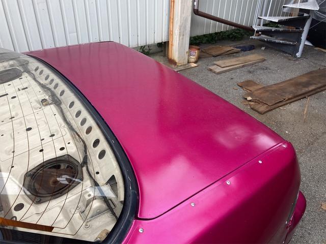 K's 車高調 デフ エアクリ マフラー 社外エキマニ オイルクーラー エレメント移動 前置インクラ 角目Hライト フルエアロ 強化クラッチ 前後オーバーフェンダー パワーFC 社外燃ポン 検査来年10月迄(28枚目)
