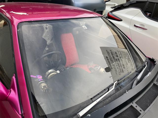 K's 車高調 デフ エアクリ マフラー 社外エキマニ オイルクーラー エレメント移動 前置インクラ 角目Hライト フルエアロ 強化クラッチ 前後オーバーフェンダー パワーFC 社外燃ポン 検査来年10月迄(41枚目)