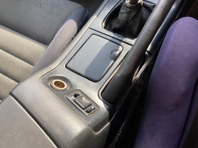 Q's ワンオフ前後オーバーフェンダー 車高調 セミバケットシート 社外ハンドル  WORKエクイップ15インチ 新品アルミホイール 新品タイヤ 社外マフラー バキュームメーター 角目ヘッドライト 純正グリル(15枚目)