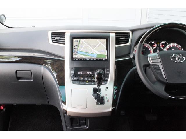 トヨタ ヴェルファイア 2.4Z ゴールデンアイズII 4WD ナビ Bカメ ETC