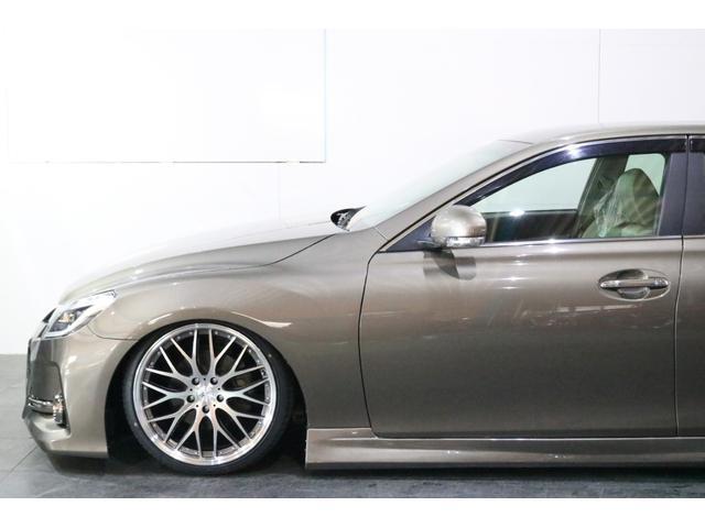 250G リラックスセレクション 前後G´s仕様 新品車高調 新品カスタムヘッドライト 新品19インチアルミ 新品タイヤ 4本出しマフラーカッター 新品ファイバーテール ナビ 地デジTV スマートキー パワーシート(12枚目)
