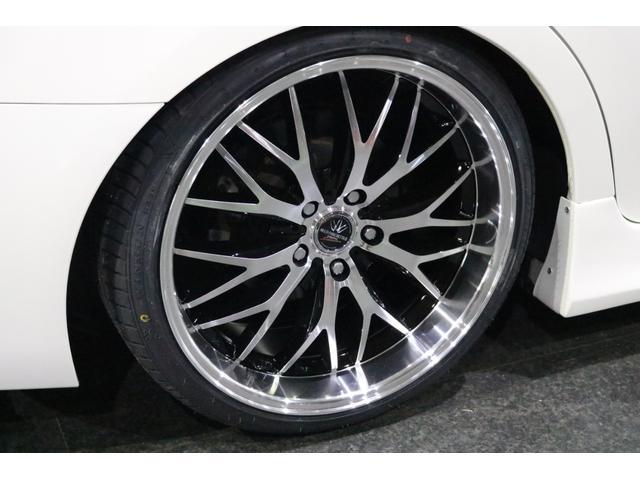 250G 前後G´s仕様 新品車高調 新品19インチアルミ 新品タイヤ 4本出しマフラーカッター ナビ 地デジTV ETC スマートキー パワーシート バックカメラ 全国保証対応 HIDヘッドライト(9枚目)