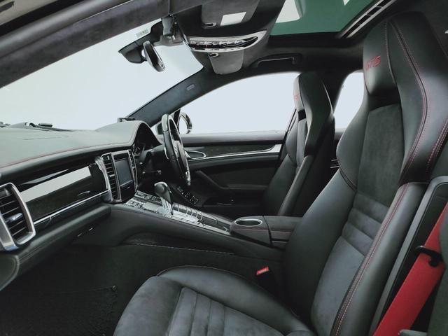 GTS 全国対応1年保証 当社管理顧客様車両 サンルーフ GTSアルカンターラコンビレザー全席ヒーター 追従 レーンキープ 911ターボII20AW スポクロ エアサス スマートエントリー スポエグ(11枚目)