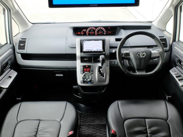 トヨタ ヴォクシー ZS煌III 8人乗り HDDナビフリップダウン ローダウン