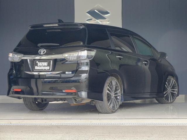 トヨタ ウィッシュ 1.8Sモノトーン 4WD サンルーフ ナビ アルミ 車高調