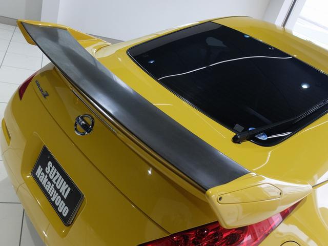 Z 後期モデル VQ35HRエンジン 313馬力 社外ナビ フルセグ 社外リヤスポ 純正18AW キセノン 革巻ステア 3連メーター ETC キーレス(6枚目)