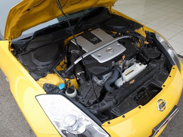Z 後期モデル VQ35HRエンジン 313馬力 社外ナビ フルセグ 社外リヤスポ 純正18AW キセノン 革巻ステア 3連メーター ETC キーレス(30枚目)