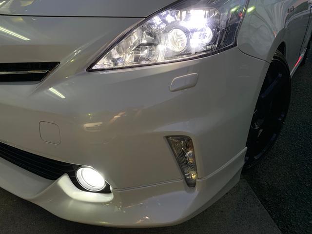 純正LEDヘッドライト装備!フォグライトもLEDに変更済み!ポジション&ナンバー灯もLEDを新品装着!