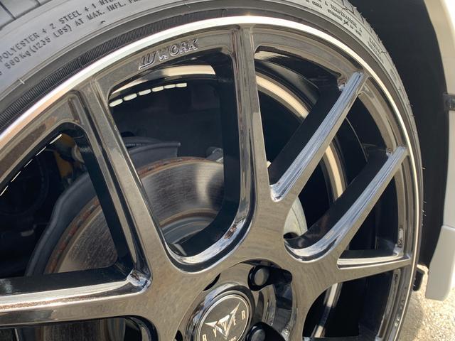S Lセレクション 選べるプラン 8インチナビ アルパインリアモニター 新品WORK19インチアルミホイール KYBサスペンション コートテクトガラス(34枚目)