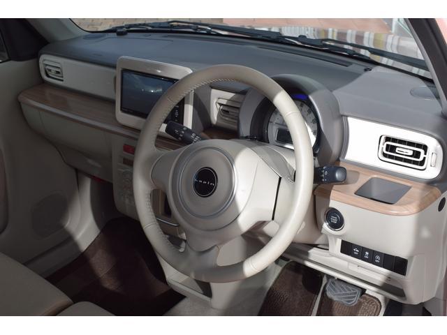 スズキ アルトラパン X ナビフルセグ レーダーブレーキサポート ピンクツートン