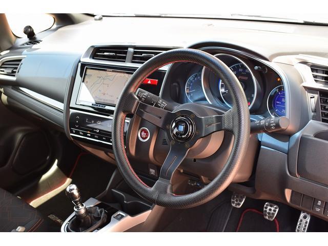 ホンダ フィット RS 6MT ブリッツ車高調 8型SDナビTV
