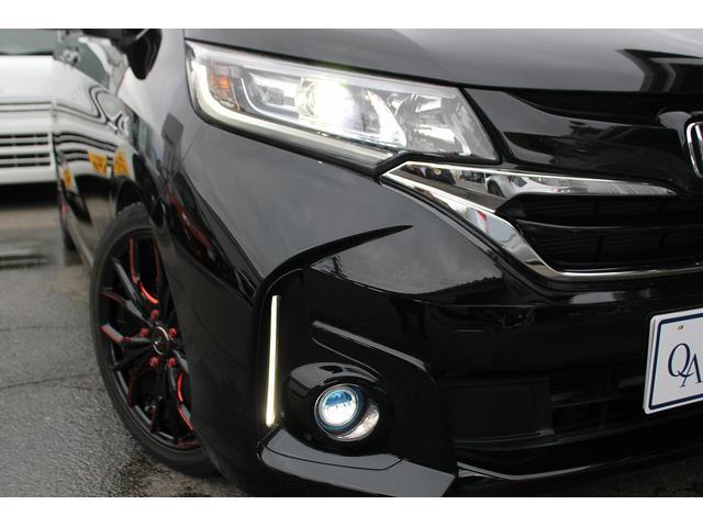 ハイブリッド・Gホンダセンシング モデュ―ロエアロ Rスポイラー 社外アルミ LEDヘッドライト 純正ナビTV バックモニター ETC 1オーナー(30枚目)