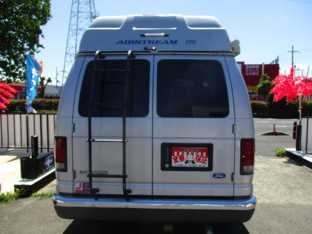 フォード フォード エコノライン エアーストリーム170キャンピングカー冷蔵庫シンク