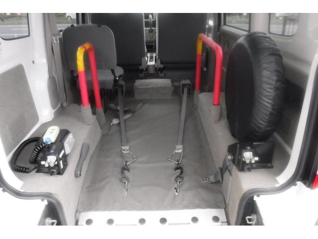 スローパー補助シート付4人乗3速AT ウインチ電動固定装置(11枚目)