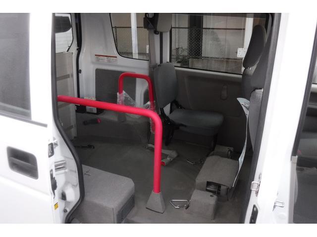 スローパー補助シート付 後部電動固定 車いす乗員用手すり付(8枚目)