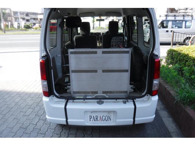 スローパー補助シート付 後部電動固定 車いす乗員用手すり付(20枚目)