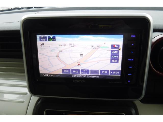 ハイブリッドX ナビ ワンセグTV バックカメラ スマートキー 両側電動スライドドア シートヒーター 衝突軽減ブレーキ非装着車(4枚目)